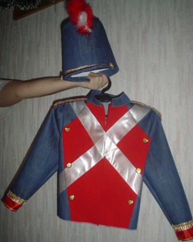Костюм солдатика своими руками фото